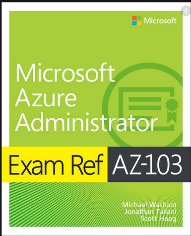 książka - microsoft azure administrator exam ref