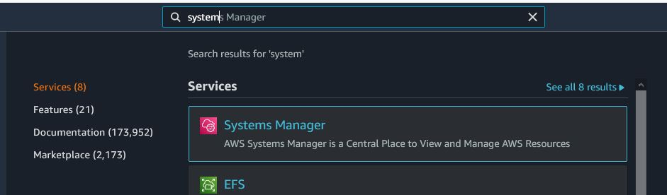 AKS - system manager