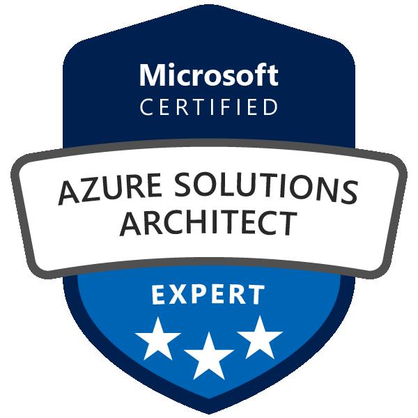 certyfikat azure solutions architect expert