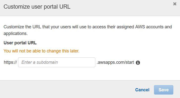 sso - user portal
